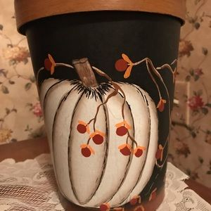 Other - Fall Pumpkin Container.